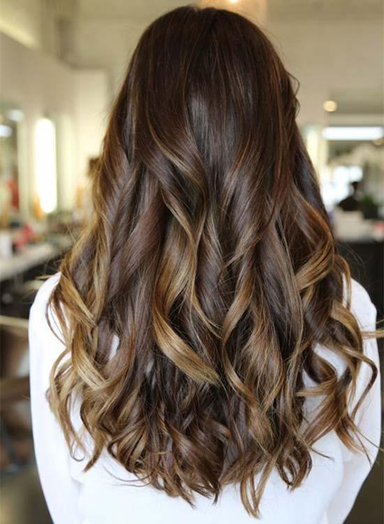 Easy Long Hairstyles - Long Balayage Hairstyles