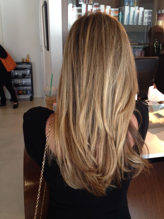 Easy Long Straight Hairstyles