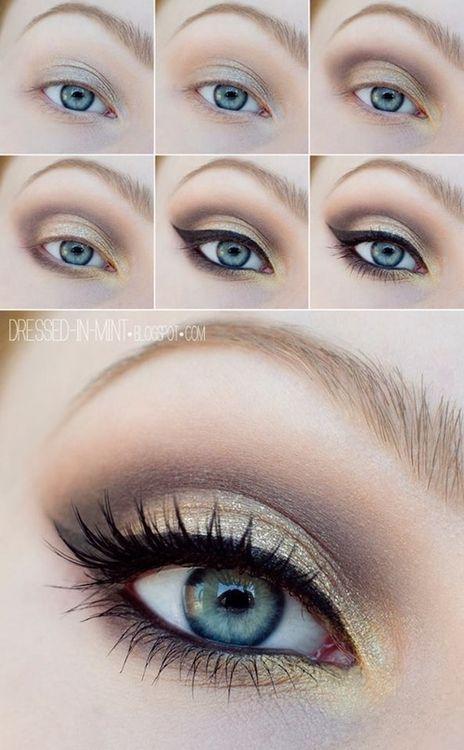Step By Step Smokey Eye Makeup Tutorials