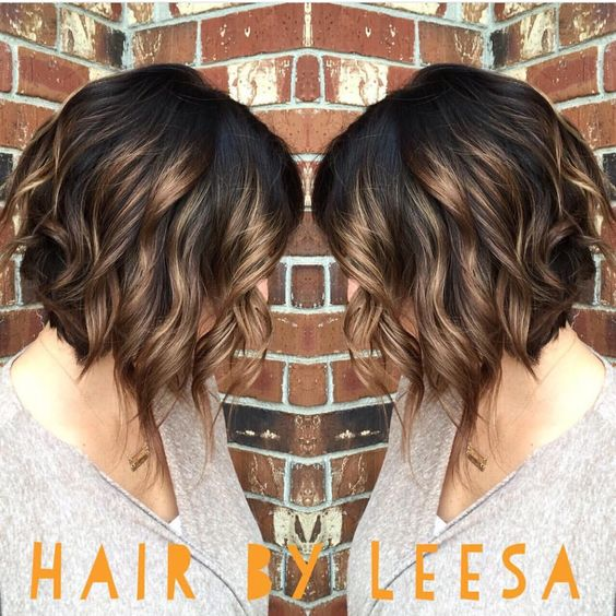 Wavy Curly Bob Hairstyles for Women