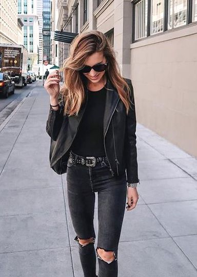 How to Pull Off an All Black Look