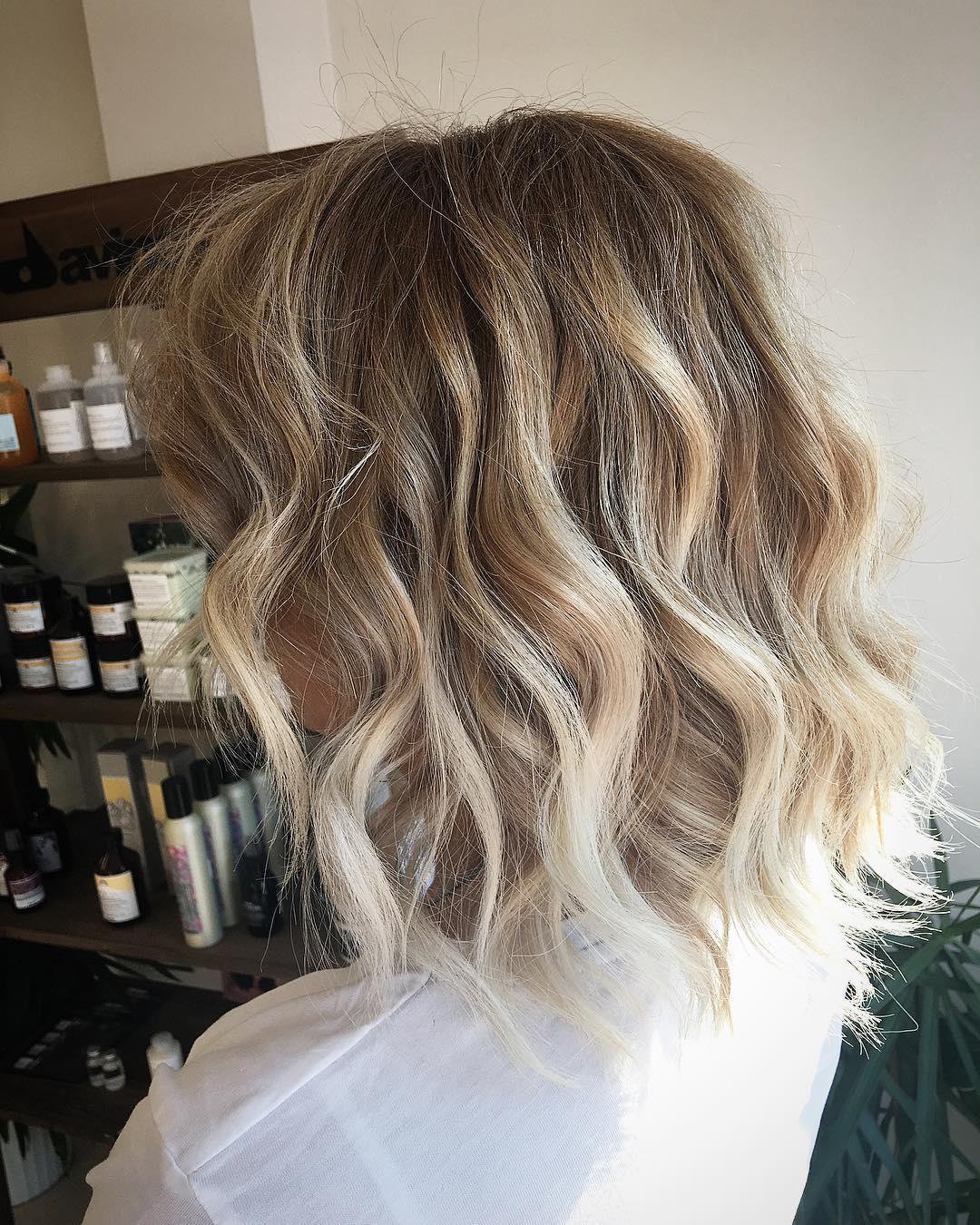 Beautiful Blonde Balayage Hair Color Ideas