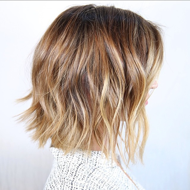 Image result for short thick hair